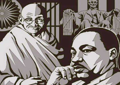 Dr. Martin Luther King Jr – the Gandhi of America