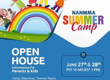 NANMMA Summer Camp Open House