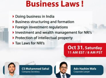 LET'S TALK BUSINESS LAWS!