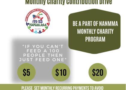 NANMMA Charity Drive